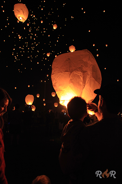 Lift off lantern festival rolla roaster
