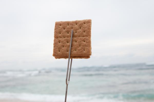rolla roaster camping fork graham cracker