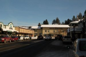 downtown McCall winter festival