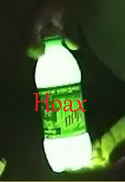Mountain Dew+baking soda+peroxide= lantern is a hoax