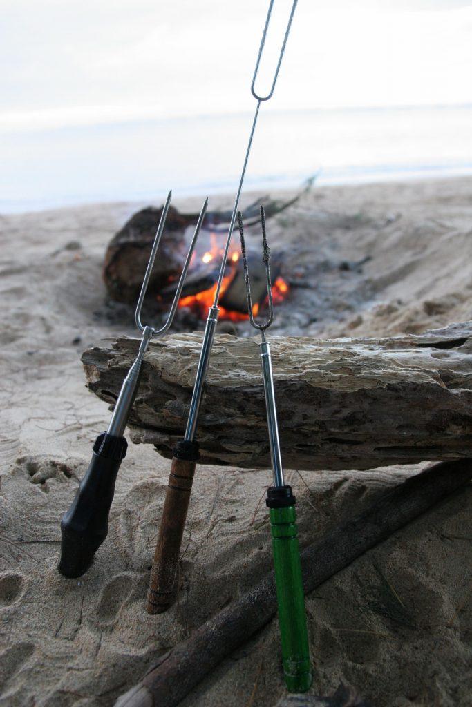 Rolla Roasters on the beach